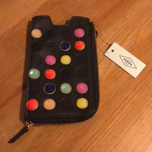 Fossil phone wallet